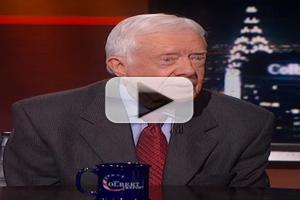 VIDEO: President Jimmy Carter Talks New Book 'A Call to Action' on COLBERT