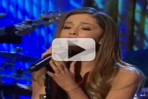VIDEO: Ariana Grande Performs Houston's 'I Have Nothing' at White House Event