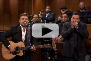 VIDEO: Javert Sings Again! Watch Russell Crowe Cover Johnny Cash on FALLON