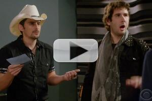 VIDEO: Sneak Peek - Josh Groban, Brad Paisley Guest on THE CRAZY ONES