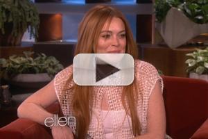 VIDEO: Sneak Peek - Lindsay Lohan Talks OWN Series & More on Next ELLEN