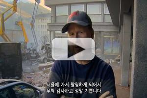 VIDEO: Joss Whedon Warns Citizens of Seoul About AVENGERS: AGE OF ULTRON Filming