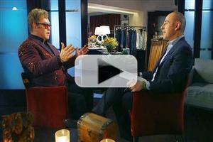 VIDEO: Elton John Talks Addiction, Upcoming Nuptials & More on TODAY
