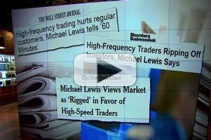 STAGE TUBE: Author Michael Lewis Says Stock Market is Rigged