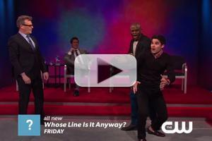 VIDEO: First Look at Darren Criss on The CW's WHOSE LINE IS IT ANYWAY?