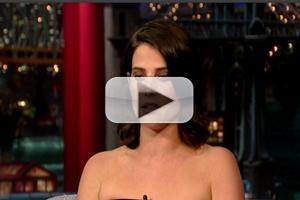 VIDEO: Cobie Smulders Talks HOW I MET YOUR MOTHER Finale on Letterman