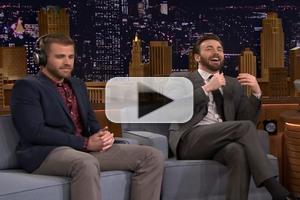 VIDEO: Chris Evans & Brother Scott Play 'Sibling-Wed Game' on FALLON