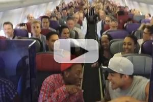 STAGE TUBE: Australian Company of THE LION KING Flash Mobs Flight!