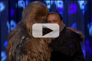 VIDEO: DWTS' Billy Dee Williams Has Final Dance w/ Chewbacca on FALLON