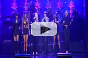 VIDEO: Pitbull Performs 'Wild Wild Love' ft. G.R.L. on TONIGHT