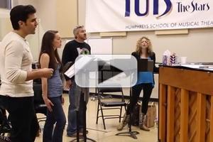 STAGE TUBE: In Rehearsal with Lauren Molina, Steel Burkhardt and the Company of TUTS' MURDER BALLAD