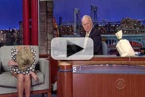 VIDEO: DAVID LETTERMAN Plays Cruel April Fool's Prank on Guest Kristin Chenoweth