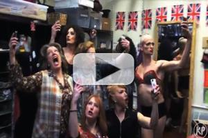 STAGE TUBE: KINKY BOOTS Company Takes a #Selfie to Honor One Year Anniversary