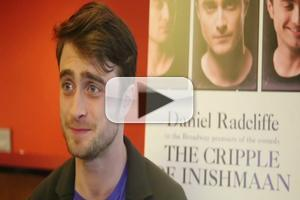 BWW TV: Daniel Radcliffe and the Company of THE CRIPPLE OF INISHMAAN Meet the Press!