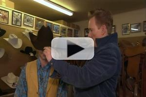 VIDEO: Sneak Peek - CONAN Gives Jordan Schlansky a Cowboy Makeover