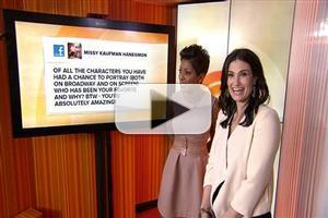VIDEO: Idina Menzel on FROZEN: 'I Had No Idea It Would Become a Phenomenon'