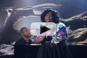 VIDEO: GLEE's Amber Riley Performs Original Song 'Colorblind'