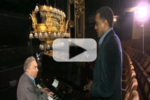 STAGE TUBE: Norm Lewis Practices for His Debut in THE PHANTOM OF THE OPERA with Andrew Lloyd Webber!