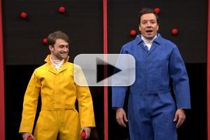 VIDEO: Daniel Radcliffe Chats CRIPPLE OF INISHMAAN, Plays 'Sticky Balls' on Fallon