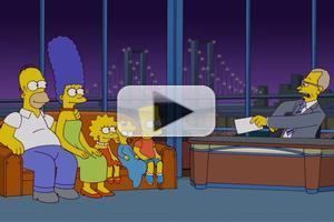 VIDEO: THE SIMPSONS Pay Tribute to Letterman