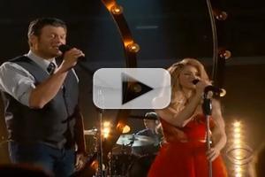 VIDEO: Shakira & Blake Shelton Perform 'Medicine' on 2014 ACM Awards