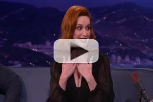 VIDEO: Christina Hendricks Talks GAME OF THRONES Casting Rumors on Tonight's CONAN