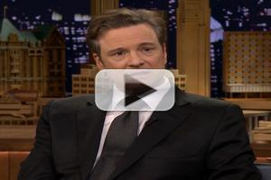 VIDEO: Colin Firth Talks New Film 'Railway Man' on FALLON