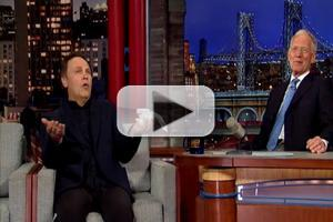 VIDEO: Billy Crystal Reacts to News of DAVID LETTERMAN's Retirement