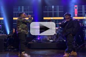 VIDEO: NAS Performs 'The World Is Yours' on FALLON