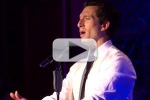 STAGE TUBE: Watch Aaron Lazar Sing Motown & More at 54 Below!