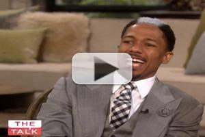 VIDEO: Nick Cannon Debuts Skunk Hair; Addresses Cheating Rumors on THE TALK