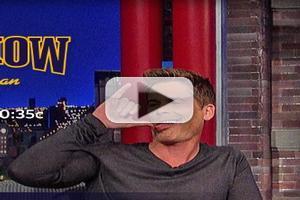 VIDEO: Rob Lowe Reveals His Empty Nest Plan on LETTERMAN