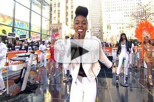VIDEO: Janelle Monae Performs 'Electric Lady', 'What Is Love' on TODAY