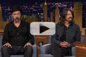 VIDEO: Nirvana's Dave Grohl & Krist Novoselic Get Nostalgic on FALLON