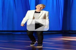 VIDEO: Ellen Auditions for Letterman Job on Today's Show!