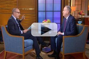 VIDEO: Bill O'Reilly Talks New Book, Gov. Christie & More on TODAY