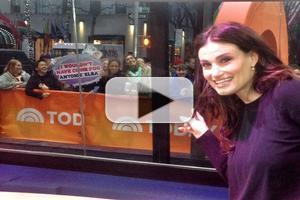 Idina Menzel Shares New Behind The Scenes Video Of IF/THEN Cast On TODAY