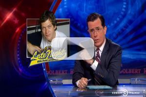 VIDEO: Stephen Colbert, Jon Stewart Comment on LETTERMAN Replacement News