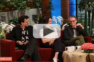 VIDEO: Johnny Depp & Cast of TRANSCENDENCE Visit Today's Ellen