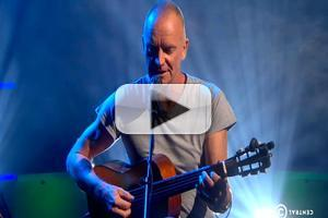 VIDEO: Sting Performs Music from Broadway-Bound THE LAST SHIP on 'Colbert'
