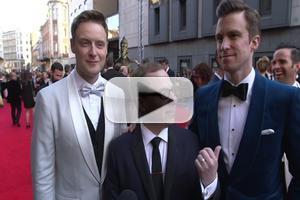 BWW TV: OLIVIER AWARDS 2014 - THE BOOK OF MORMON's Gavin Creel & Stephen Ashfield