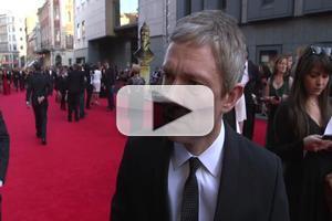 BWW TV:  OLIVIER AWARDS 2014 - SHERLOCK's Martin Freeman