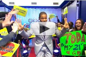 VIDEO: GMA Officially Welcomes Michael Strahan to the Team