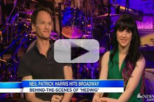 VIDEO: GMA Goes Behind-the-Scenes with NPH & Cast of HEDWIG AND THE ANGRY INCH