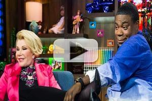VIDEO: Joan Rivers, Tracy Morgan Weigh In on Colbert/Letterman News