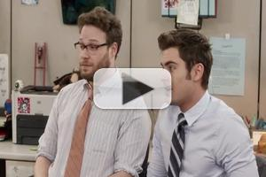 VIDEO: WORKAHOLICS Crew Interview 'Neighbors' Zac Efron & Seth Rogen for Cubicle Spot