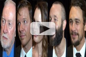 BWW TV: Chatting with James Franco, Chris O'Dowd and the OF MICE AND MEN Cast on Opening Night!
