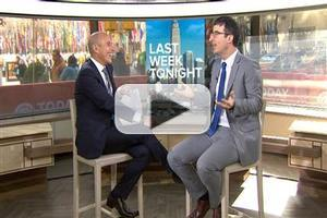 VIDEO: John Oliver Talks New HBO series on TODAY