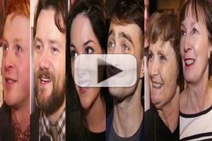 BWW TV: Chatting with Daniel Radcliffe & the Cast of THE CRIPPLE OF INISHMAAN on Opening Night!