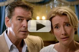 VIDEO: New Trailer for THE LOVE PUNCH with Pierce Brosnan & Emma Thompson